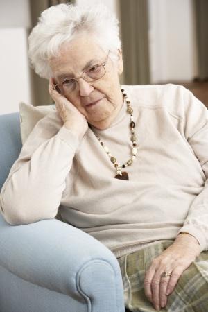 Lonely senior