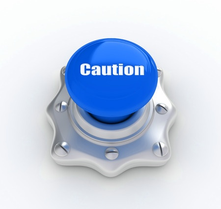 caution button