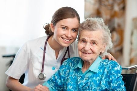A Senior Caregiver