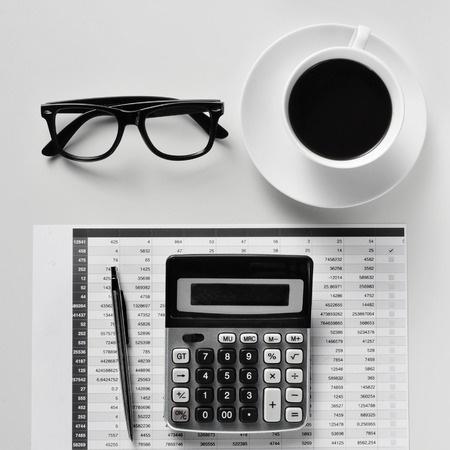 Calculator_Balance Sheet_Coffee